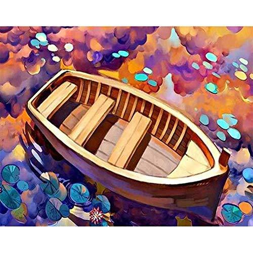 YSNMM foto's voor volwassenen, zonder lijst, schilderij natuur slaapkamer decoratie nummer trekking cadeau