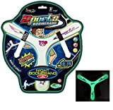 Lightweight and flexible, it is perfect for children. It is suitable for outdoor games and sports. The Y-shaped design makes it easy to throw and spin, and it will return back to you after throwing it. Best for Kids & adult both.