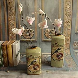 TRRT Fake Plants Artificial Magnolia Silk, Home Wedding Party Garden Decoration Fake Florals Simulation Fake Flower