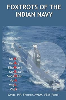 Paperback Foxtrots of the Indian Navy Book