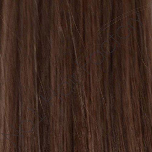50,8 cm Remy Stick Tip Extensions de cheveux # 5 brun chocolat 0,50 G Mèches