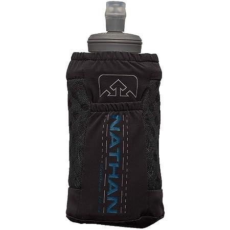 Nathan Handheld ExoDraw/ExoShot 2.0 18oz / 14oz Insulated Soft Flask – Portable Hydration Bottle for Marathons, Hiking, Ultra Running and Outdoor Activity