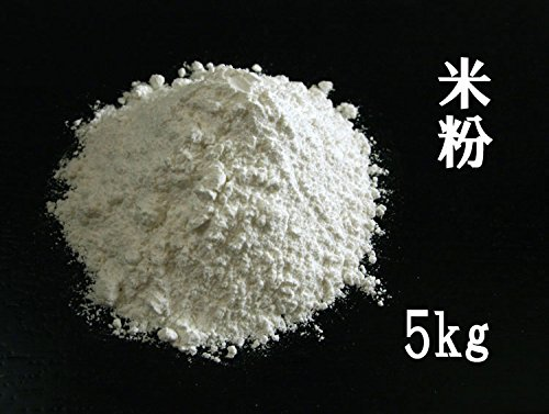 [菓子材料]上新粉 【滋賀県産】日本晴の「米粉」(胴搗きの上新粉) 業務用 5kg