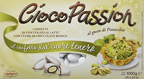 Crispo Confetti 010138064 Cioco Passion Pistacchio, Bianco, 1 kg