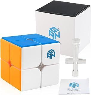 Coogam GAN 249 V2 2x2 Speed Cube Gans249 2x2x2 Gan249 Puzzle Toy Stickerless