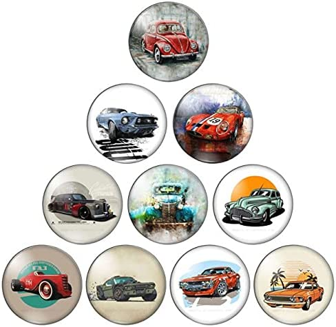 Triangle-Box discount Oklahoma City Mall - Sports Car 10Pcs 8 10 Round Flat Ba 18 20 25mm 12