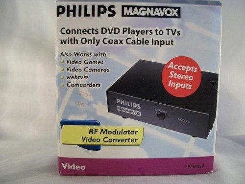 Philips Magnavox RF Modulator Video Stereo Converter - PM61138