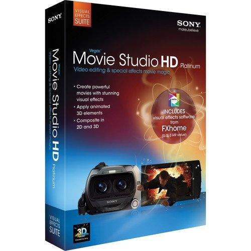 Sony Creative Software Movie Studio Platinum - Visual Effects Suite