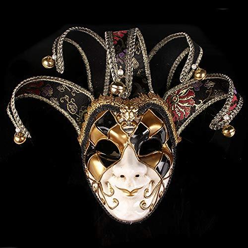 JNKDSGF Horror maskHalloween Maskers Volwassen Anoniem Masker voor Mannen Vrouwen Maskerade Halloween Venetiaanse Kostuums Carnaval Masker voor Anoniem
