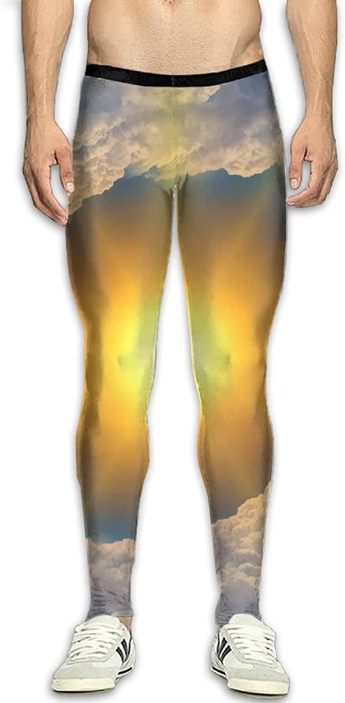 Dfdffrfrwqq Sun Cloud Climate Men's Active Basic Athletic Skinny Track Pants