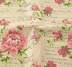 Tela para costura o tapizar vintage flores inglesas de textura de calidad resistente y diseño ideal NOVEDAD al corte por metros. 1 unidad es 0.50 m. x 1.45 m . 2 unidades 1 m x 1.45 m...podras confeccionar cortinas, colchas, cojines, atrezzo caravanas, descalzadoras, renovar tus sillas.. de CHIPYHOME