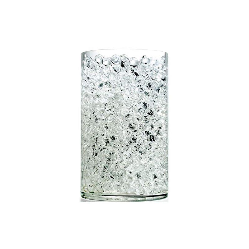 silk flower arrangements notchis upgraded 20,000 vase fillers clear big water gel beads, floral beads gel bead, clear water pearls vase filler bead for wedding centerpiece decoration, floral decoration
