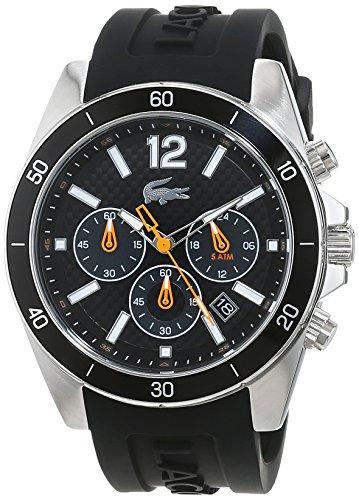 Lacoste Herren-Armbanduhr Seattle Analog Quarz Silikon 2010833