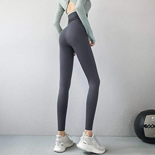 SKYROPNG Kompressions-Yogahosen FüR Damen Mit Extra Hoher Taille, Shapewear-GüRtel-Trainingsgamaschen,Gray