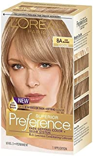 Pref Haircol 8a Size 1ct L'Oreal Preference Hair Color Ash Blonde #8a