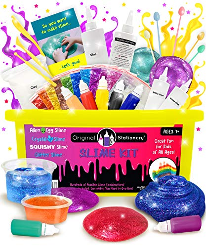 Product Image of the Slime Kit Supplies