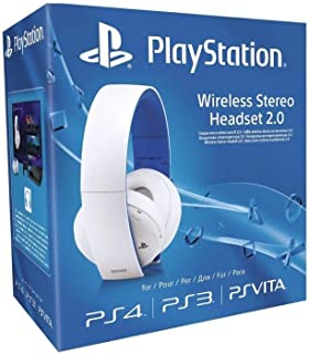 comprar comparacion Sony - Auriculares Inalámbricos Stereo, Color Blanco (PS4, PS3, PS Vita)