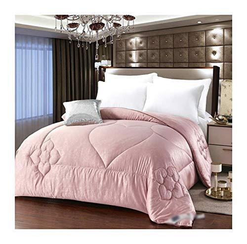 Silk Sommer Winter Quilt Königin Doppel King-Size-chinesische Maulbeereseide-Bettwäschebetteinsatz Tröster (Color : 5, Size : 150X200 3kg)