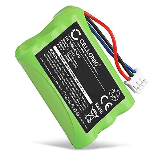 CELLONIC® Qualitäts Akku kompatibel mit Bang & Olufsen BEOCOM 6000 (700mAh) 3HR-AAAU,70AAAH3BMXZ,T373 Ersatzakku Batterie