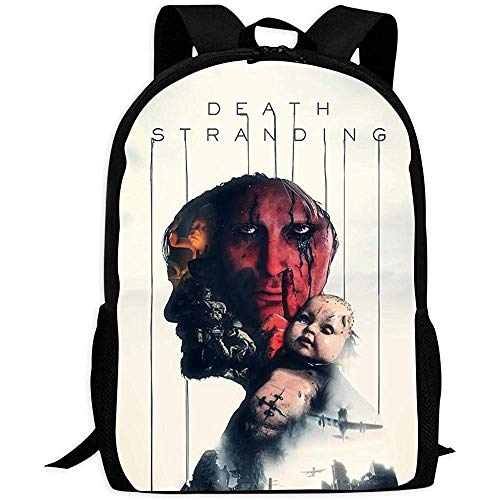 School Backpack,DEA-TH Str-Anding Roles Soft Adult Bookbags For Adult Outdoor Gym