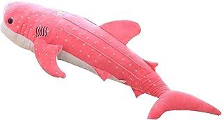 RIsxffp Mascota de Juguete? Juguete de Peluche Grande muñeca de Tela de Pescado de Ballena rellena de Regalo de cumpleaños para niños Pink 100cm