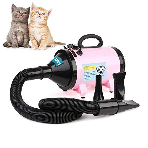 MVPOWER Secador Profesional para Pelo Perros Gatos Animales 2800W Temperatura Velocidad Ajustable...