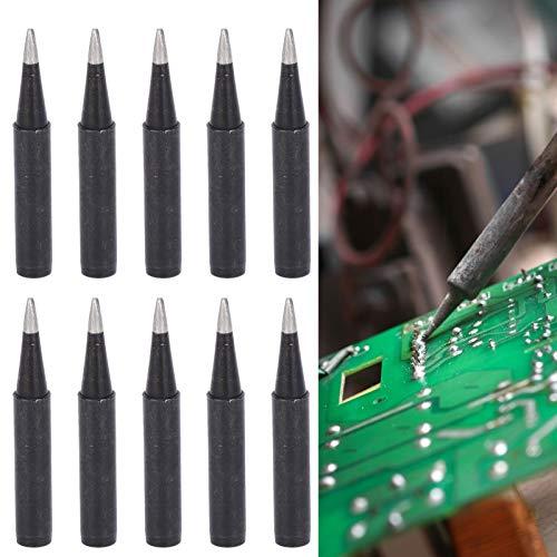 Puntas de soldadura de punta de soldador ST7 de repuesto, kit de repuesto de puntas de modelo múltiple para herramienta de estación de soldadura Hakko