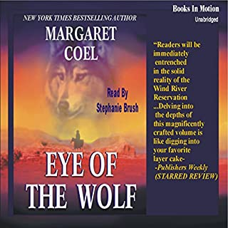 Eye of the Wolf audiobook cover art