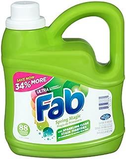 Fab Spring Magic Liquid Laundry Detergent (134oz)