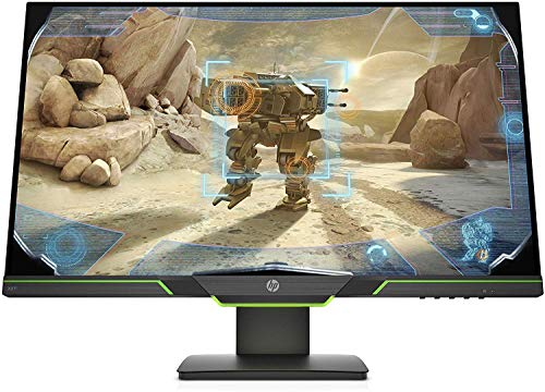"HP – Gaming x27i Monitor 27"" QHD 2560 x 1440 a 144 Hz, IPS, Antiriflesso, Tempo risposta 4 ms, AMD FreeSync, Regolazione Pivoting Inclinazione e Altezza, Comandi su schermo, DisplayPort, HDMI, Nero"