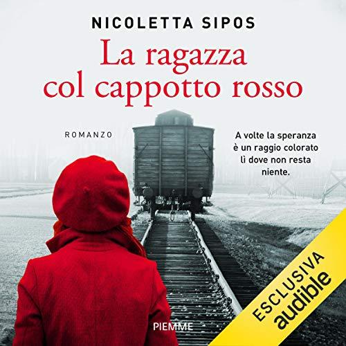 La ragazza col cappotto rosso audiobook cover art