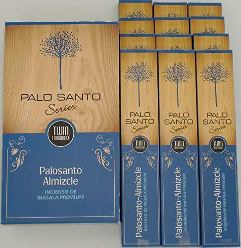 Sri Durga Palo Santo Almizcle – Incienso (PaloSanto Musk), 12 paquetes de 15 gramos c/u