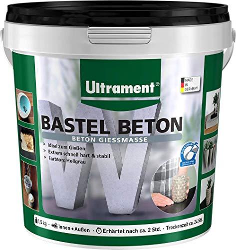 Ultrament Bastel Beton, grau, 1,5 kg