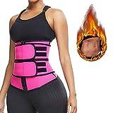 YZU Shaper Corpo Snellente da Donna, Supporto Schiena, Cintura Dimagrante Sauna per Donna, Cintura per Allenamento in Vita, Corsa e Allenamento,XXXL