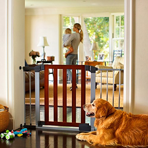 519kylEoBgL The 7 Best Pressure Mounted Baby Gates of [2021 Review]