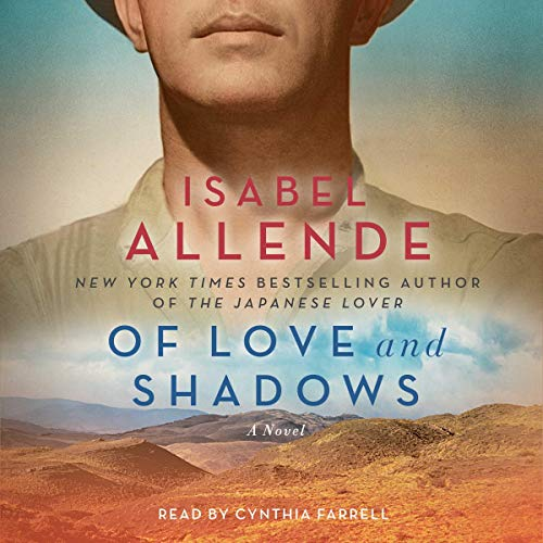 Of Love and Shadows audiobook cover art