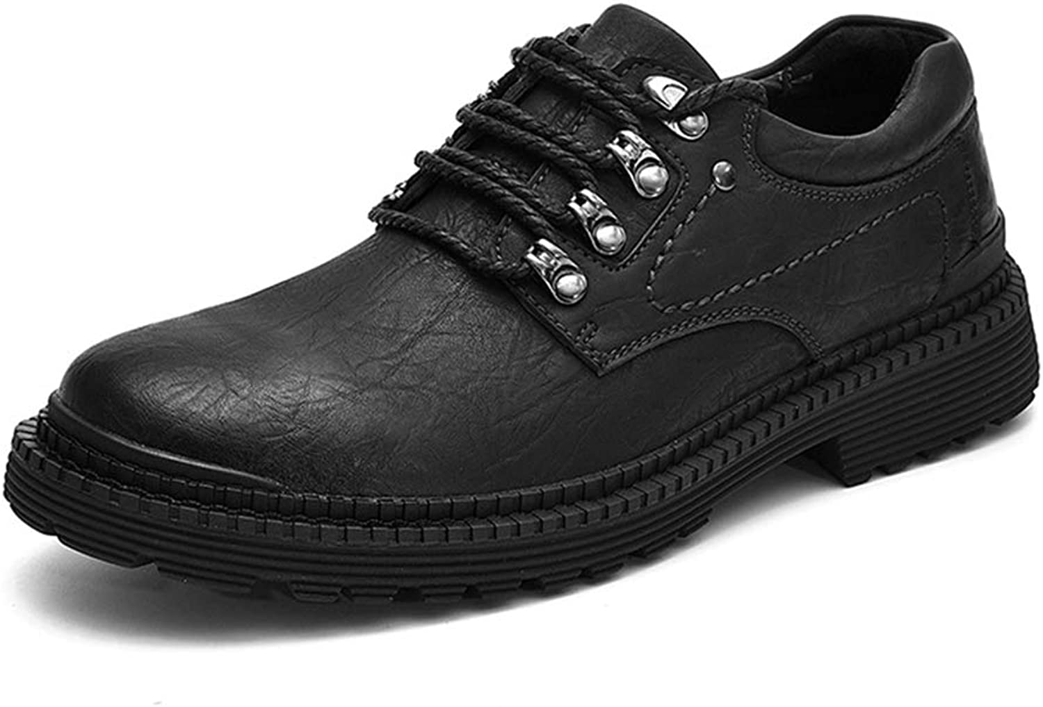 Phil Betty Mens Dress Lace Up Non-Slip Breathable Comfortable Oxford shoes