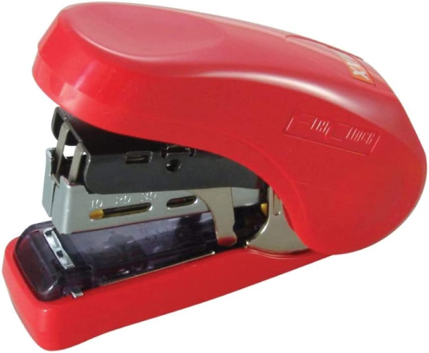 MAX HD-10FLR Flat-Clinch Light Red Effort Stapler Inventory cleanup Don't miss the campaign selling sale