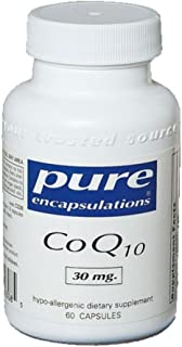 Pure Encapsulations - CoQ10 60 mg - Hypoallergenic Coenzyme Q10 Supplement - 60 Capsules