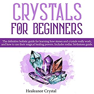 Crystal for Beginners audiobook cover art