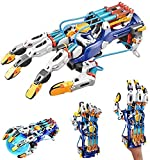 JUNBO Hydraulic Robotic Arm Kit Learn Hydro Mechanics and Robotics, Hydraulic Robotic Hand Model Kit to Build, Adjustable for Different Hand Sizes, Amazing Gripping Capabilities
