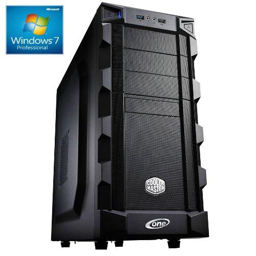 ONE Multimedia-PC AMD Bulldozer FX-6300, 6x 3.50 GHz (Hexacore) | 16 GB DDR3-RAM | 1000 GB HDD | BLU-RAY Laufwerk | GIGABYTE GA-78LMT-USB3 | CardReader | 2 GB NVIDIA GeForce GTX 1050 (HDMI, DVI, DP) | 7.1 Sound | LAN | inkl. Windows 7 Professional 64-Bit