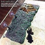 AMONIDA 【Venta del día de la Madre】 Isla Flotante de Acuario de Espuma de poliestireno, Isla para Tomar el Sol, Isla de Tortuga, Bricolaje Semi acuático para Animales semiacuáticos(Small)