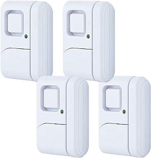 GE 45174 Magnetic Indoor Window Alarms, 4 Pack