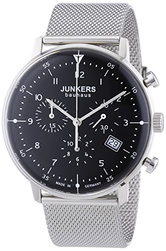 Junkers Herrenuhr Chronograph Quarz mit Edelstahlarmband – 6086M2