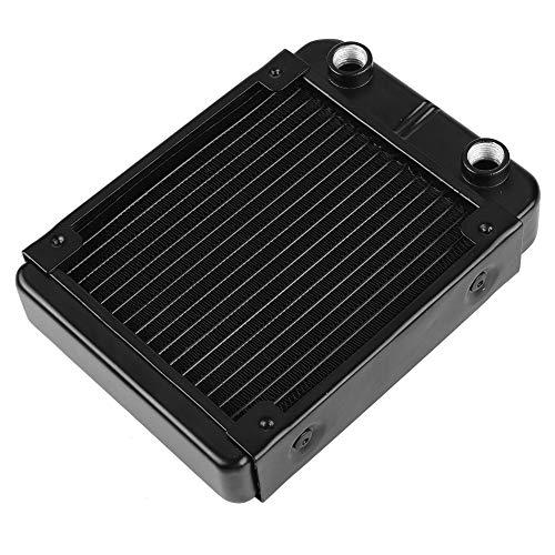 RBSD Radiador intercambiador de Calor, radiador de refrigeración por Agua Profesional 120 mm / 360 mm para computadora para Sistema de refrigeración por Agua para PC(120mm)