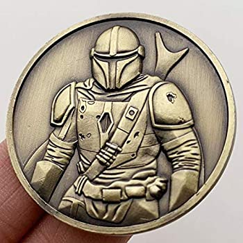 UHFGJH American Star Wars Warriors Embossed Bronze Medal Collectible Coin Cartoon Coin Gold Coin Coin Commemorative Coin