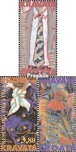 Prophila Collection Kroatien 306I-308I (kompl.Ausg.) 1995 Geschichte der Krawatte (Briefmarken für Sammler)