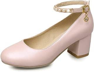 BalaMasa Womens APL12349 Pu Heeled Sandals