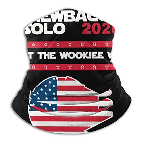 Chewbacca Solo 2020 Winter Neck Warmer For Men Women Ski Neck Gaiter Cover Face Mask